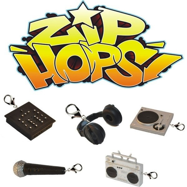 Zip Hop Zipper Pulls - Single Blind Box