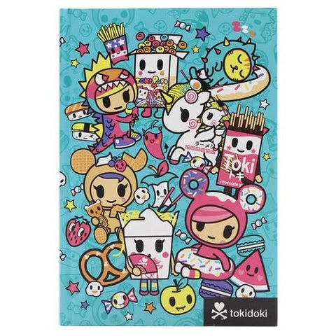 "Tokidoki ""All You Can Eat"" Hardcover Notebook"