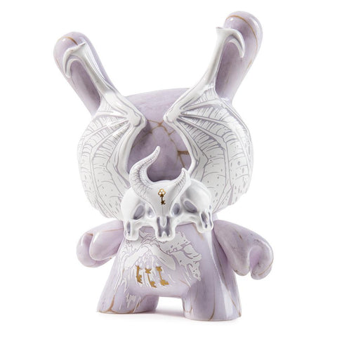 "Arcane Divination Azazel Grey/ Gold Marble 5"" Dunny by Jon-Paul Kaise"