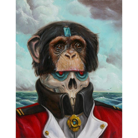 Admiral Chimp by Jonathan Bergeron