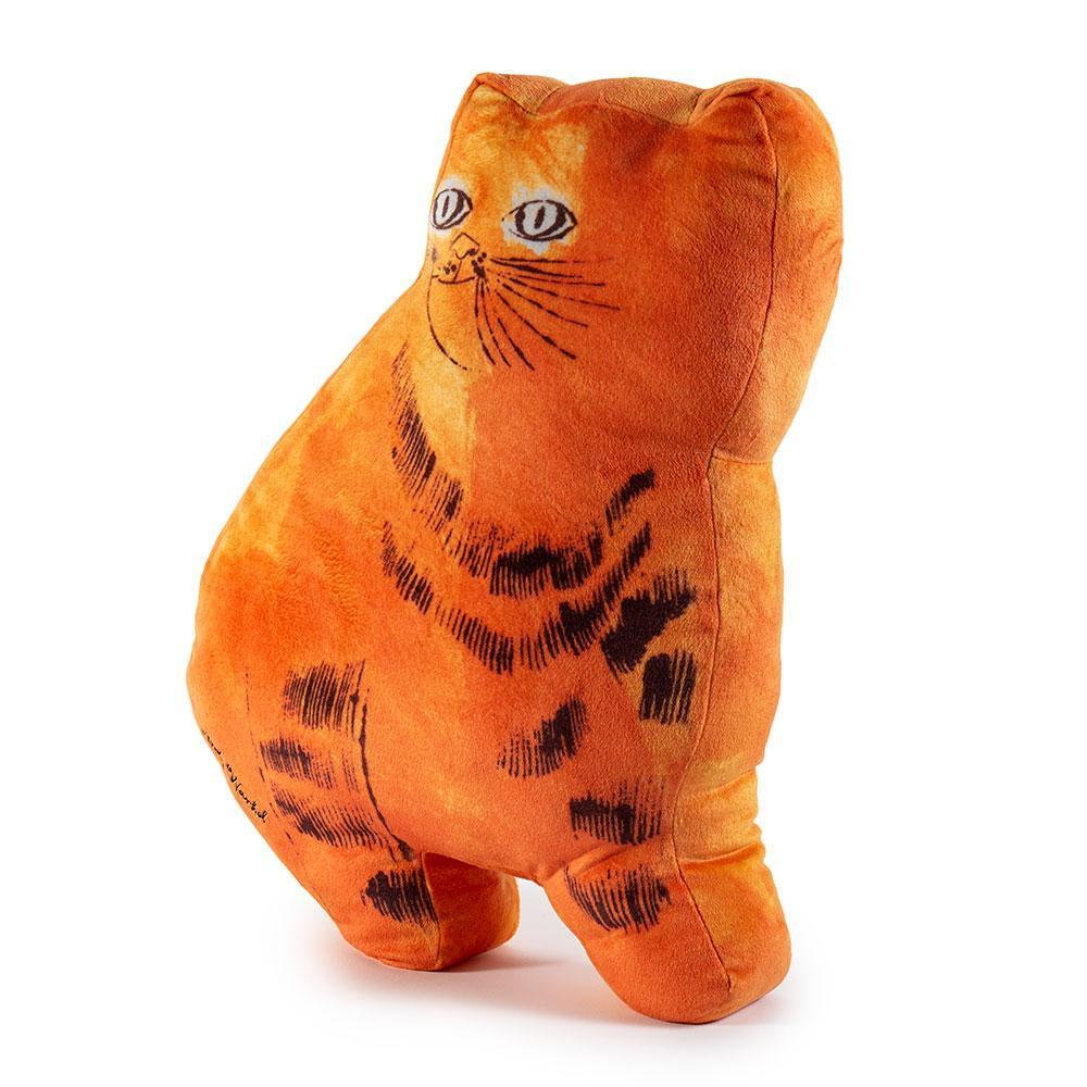 Andy Warhol Orange Cat Plush