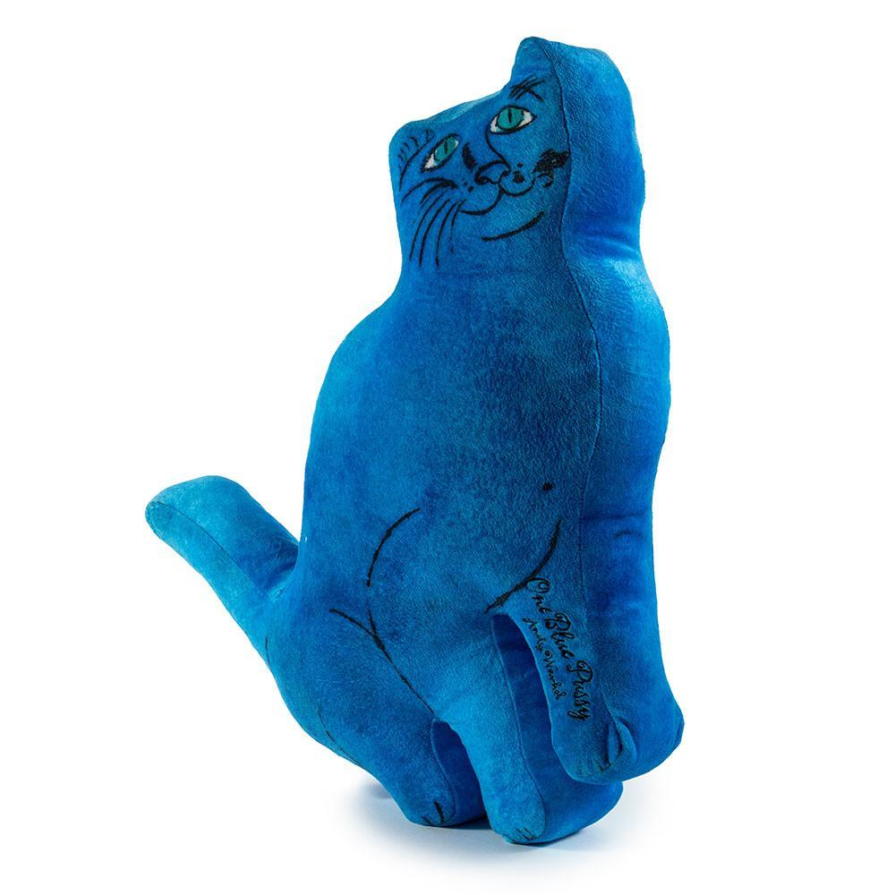 Andy Warhol Blue Cat Plush