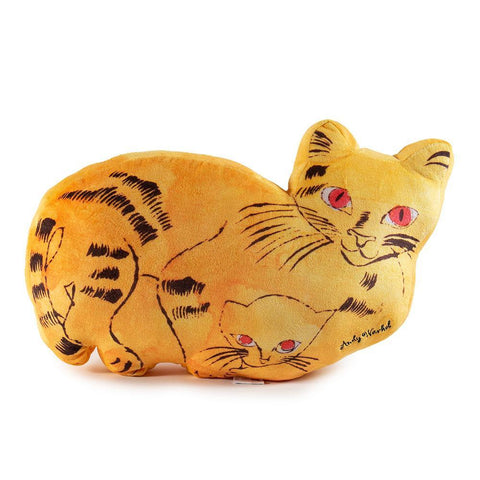 Andy Warhol Yellow Cat Plush