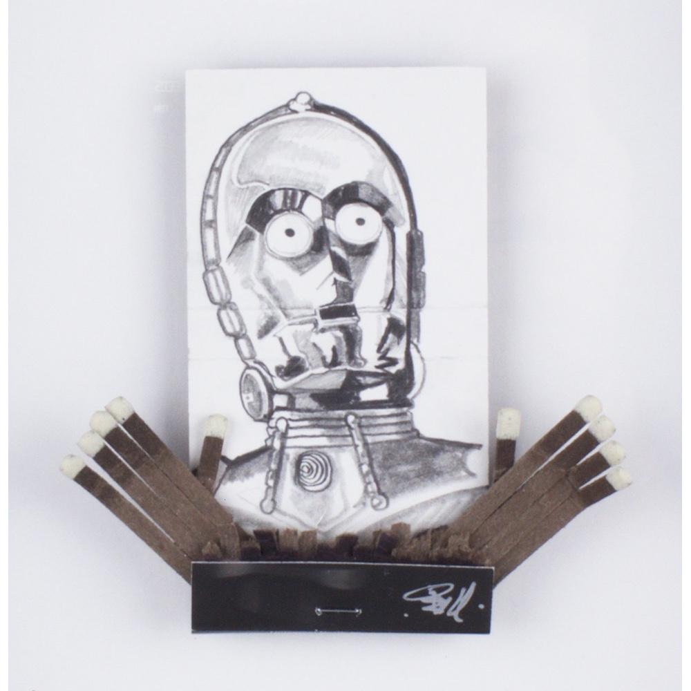 C3PO Match by Mike Bell