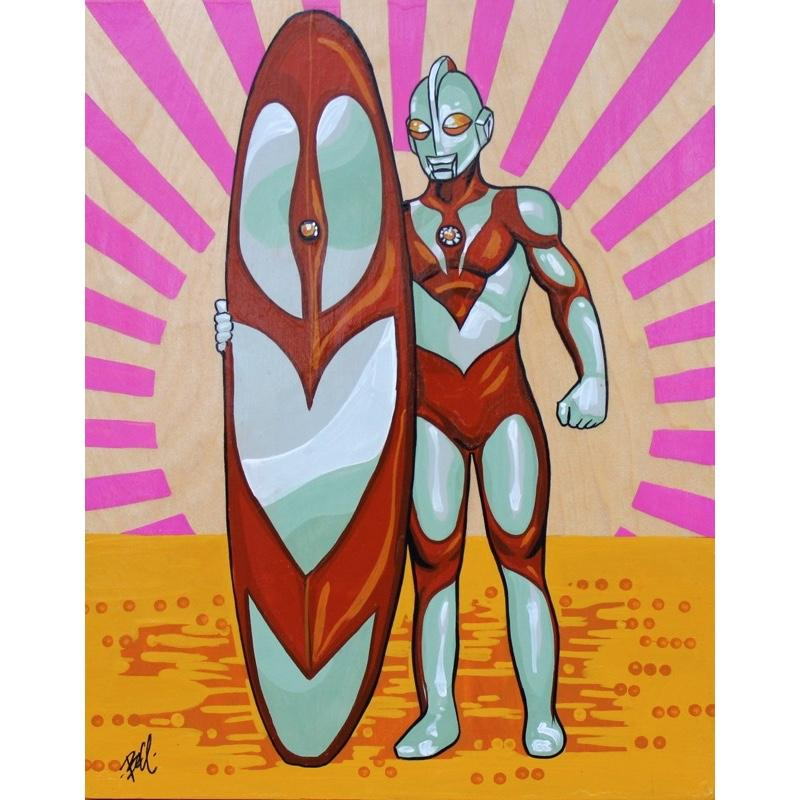 Ultra Surfer by Mike Bell