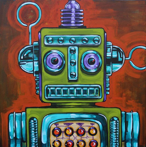 Mechanoid 3000 by Mike Bell
