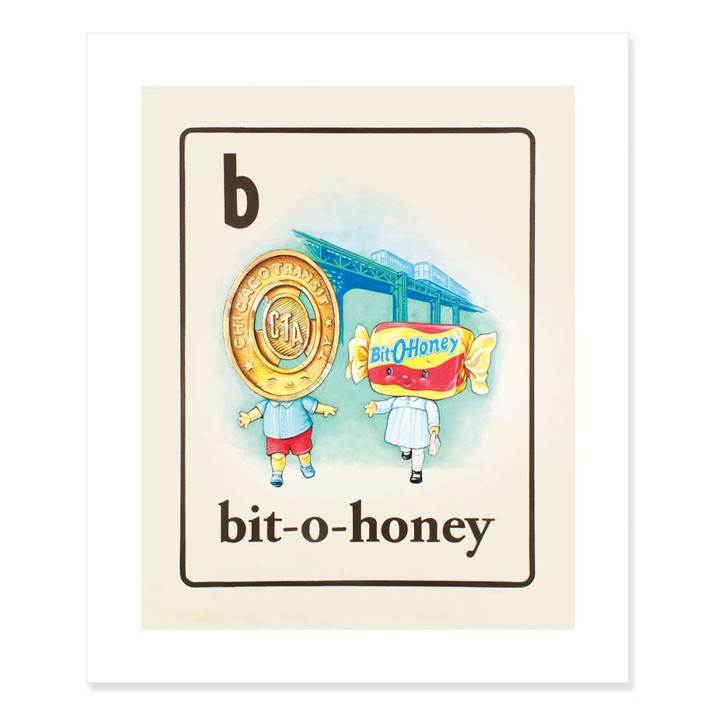 Bit-o-Honey Print by Cindy Scaife