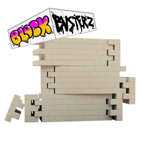Blockbusterz — DIY Vinyl Wall Kit — 3-Pack Pre-Order