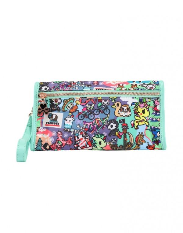 California Dreamin' Wristlet Cosmetic Bag