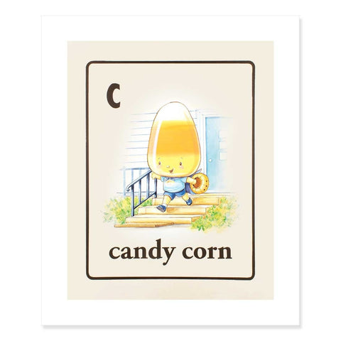 Candy Corn Print by Cindy Scaife
