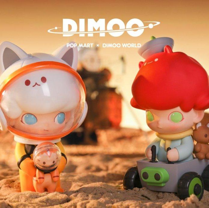 Dimoo Space Travel Blind Box Series by Ayan Tang