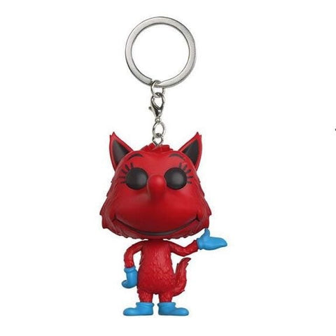 Pocket POP! Fox In Socks Keychain