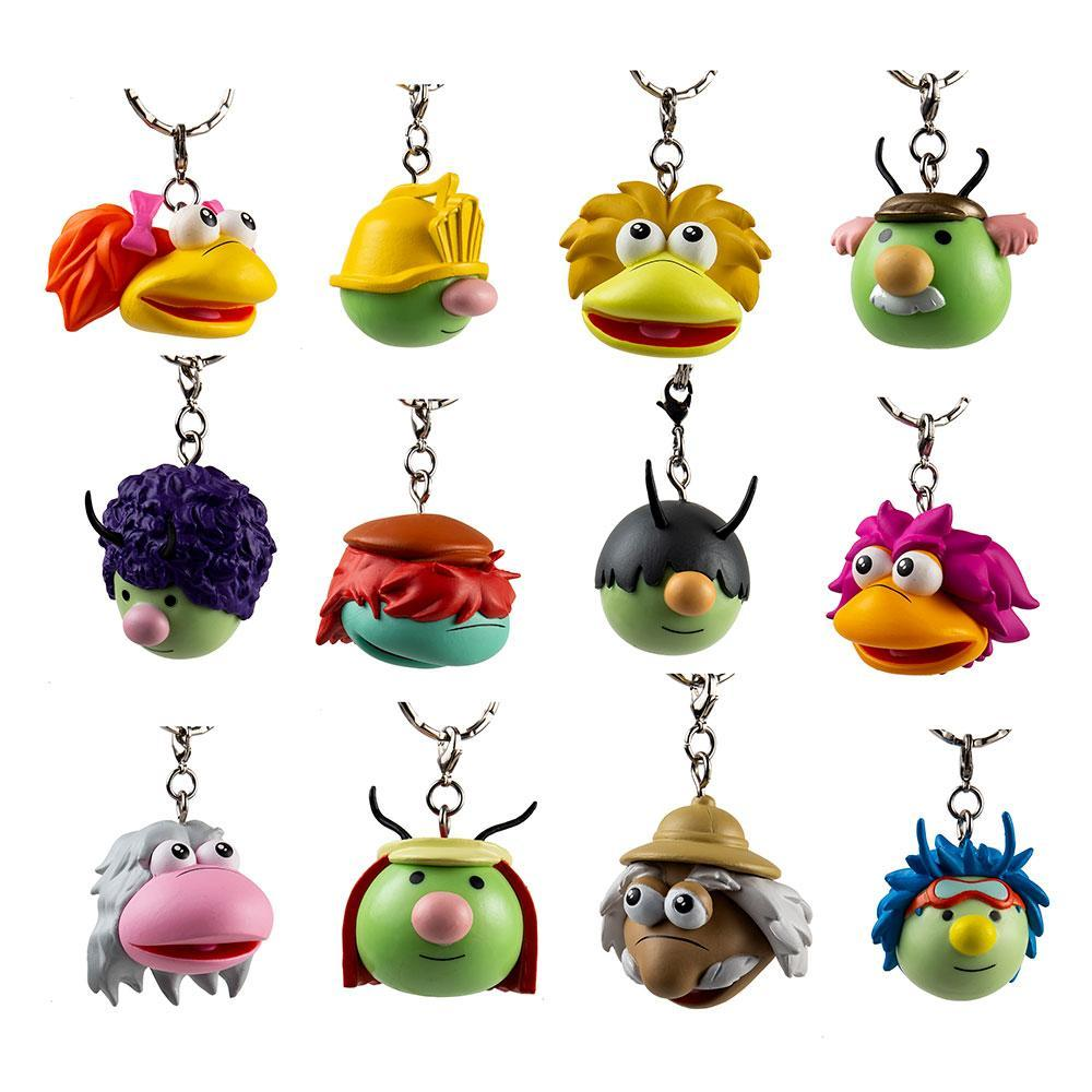 Fraggle Rock Mini Keychain Blind Box