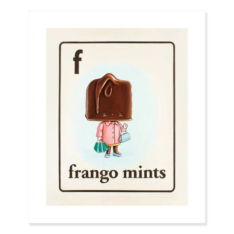 Frango Mints Print by Cindy Scaife