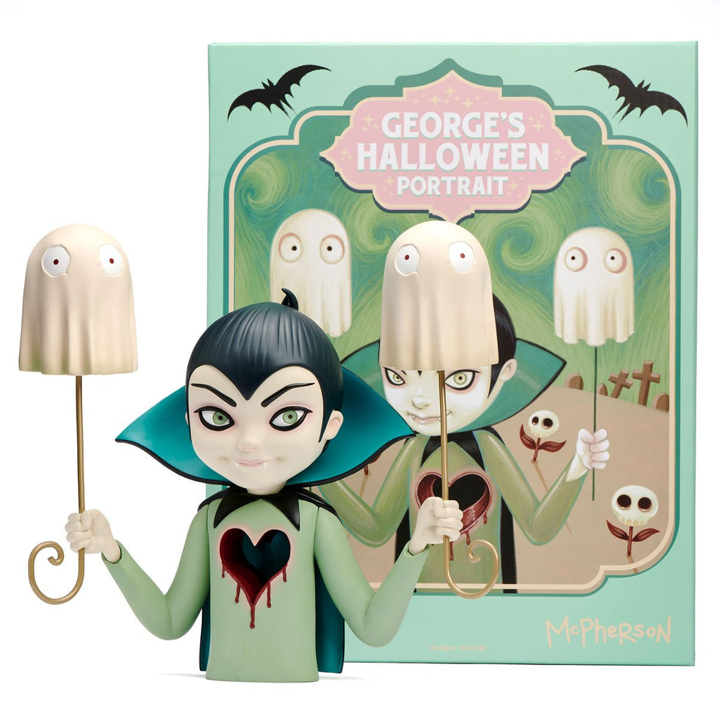 George's Halloween Portrait by Tara McPherson