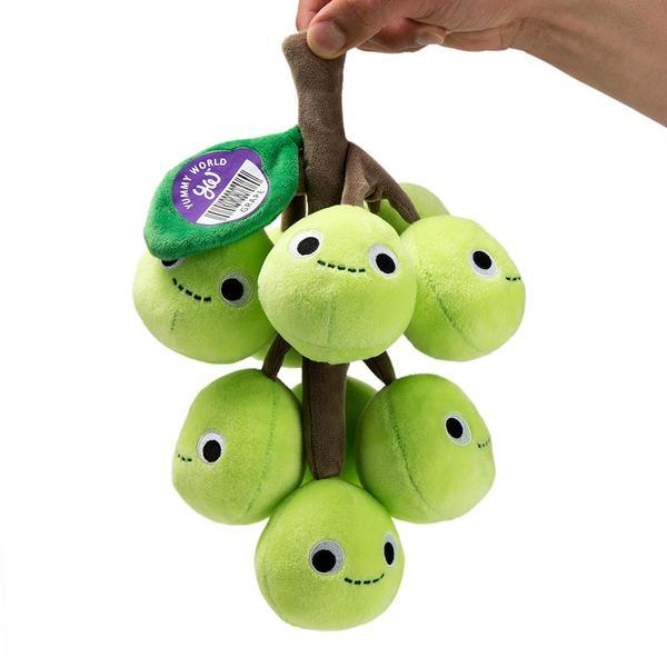 Grady Grape Bunch - 11-Inch Yummy World Plush