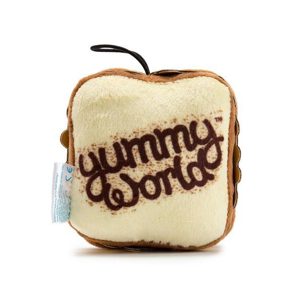 Gary Grilled Cheese Sandwich - 3-inch Yummy World Plush