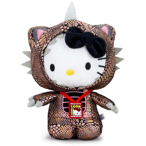 Hello Kitty Cosmos Kaiju Cosplay Plush - Black Hole Edition