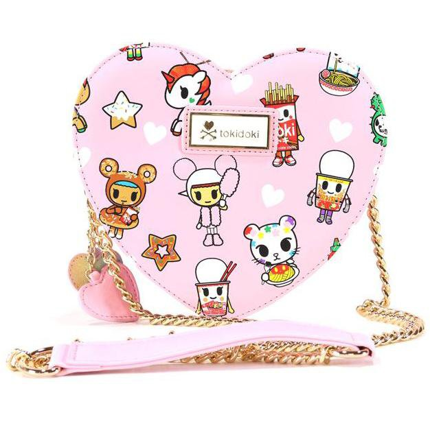 Toki Takeout Heart-Shaped Crossbody