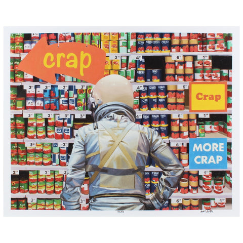 The Crap Store by Scott Listfield - Limited Edition Print