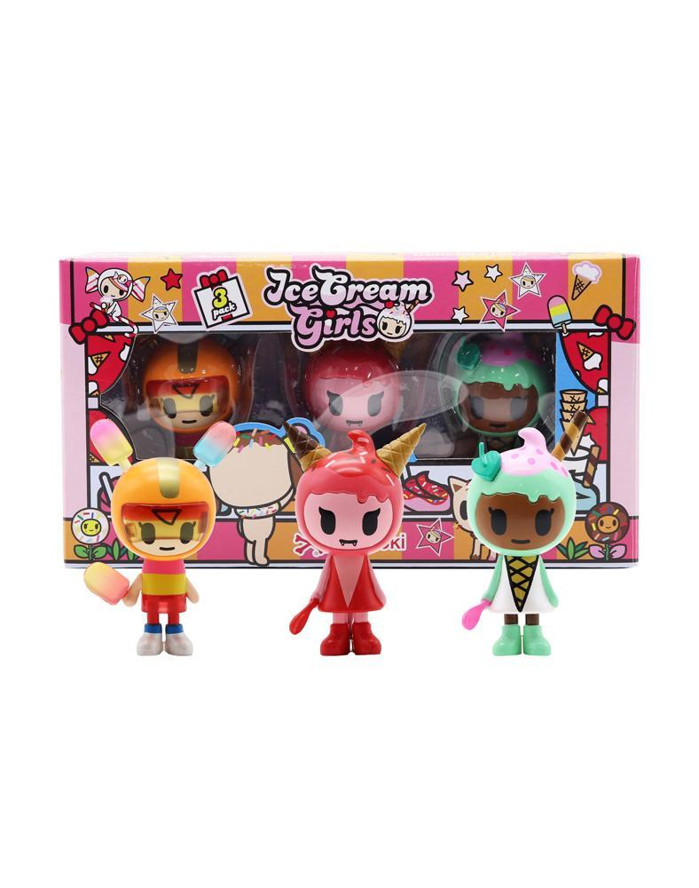 tokidoki Ice Cream Girls 3-Pack