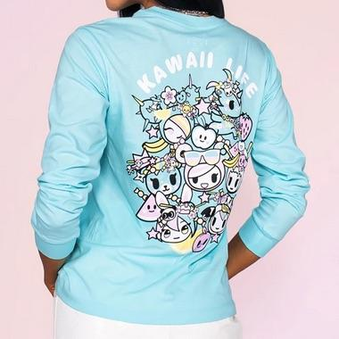 Kawaii Life Unisex Long-Sleeve Tee