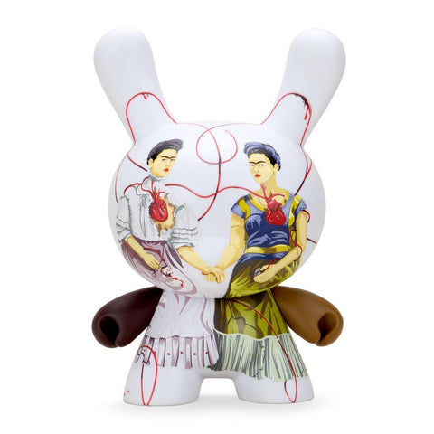 "Frida Kahlo 8"" Masterpiece Dunny — Two Fridas"