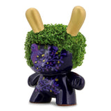 "Noctis Purple 5"" Chia Pet Dunny by Cristina Ravenna"