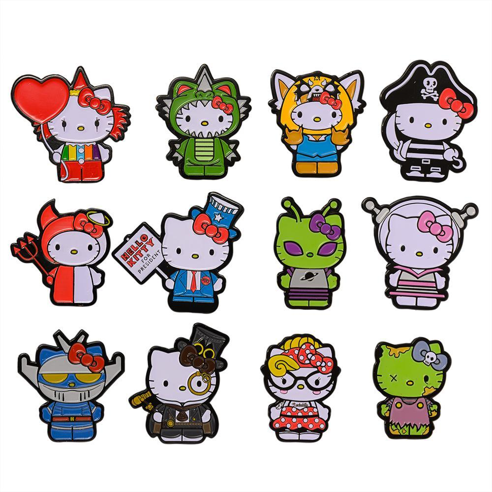 Hello Kitty Time to Shine Enamel Pin Blind Box