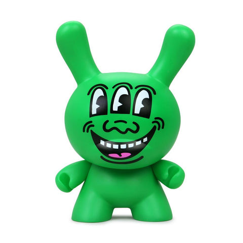 "Keith Haring 8"" Masterpiece Dunny — Three-Eyed Face"