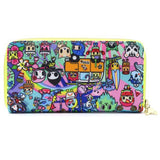 Tokidoki Pool Party Long Wallet