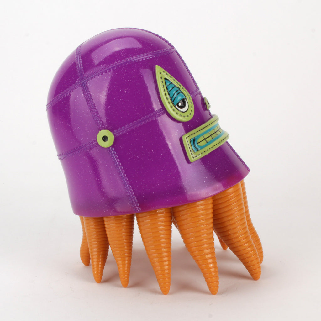 Lucha Squid by Germs - Purple Soft Vinyl