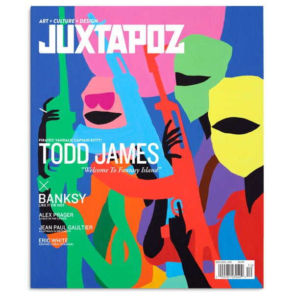 Juxtapoz - December 2013 - no.155