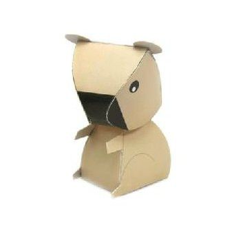 Koala DIY Paper Toy Postcard #024