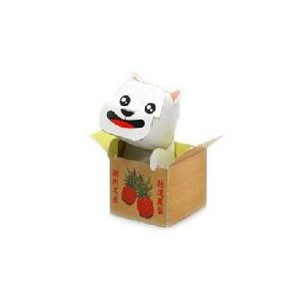West Highland White Terrier  (Box) DIY Paper Toy Postcard #104