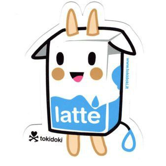 Latte - tokidoki Sticker