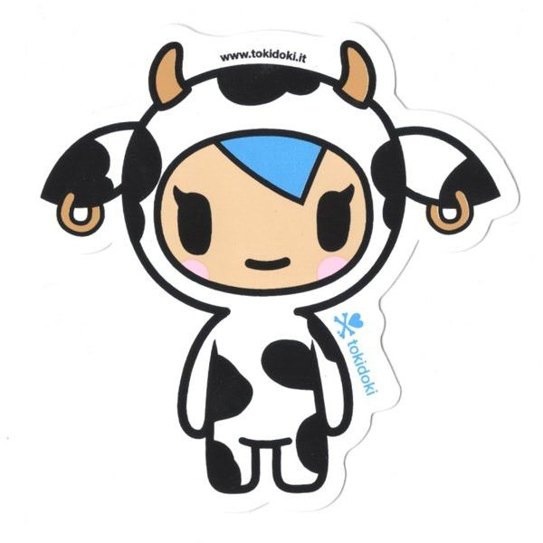 Mozzarella - tokidoki Sticker