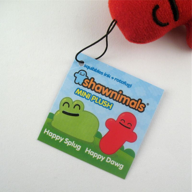 Shawnimals Mini Plush Happy Dawg