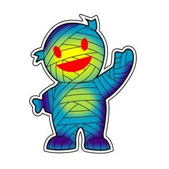 Mummy Boy Sticker