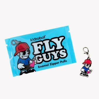 Kidrobot Fly Guys Enamel Zipper Pull - Single Blind Pack