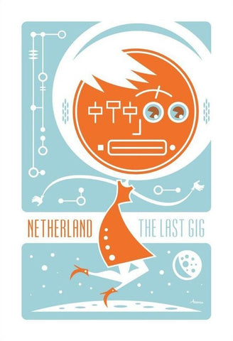 The Next Gig Print by Mark Atomos Pilon