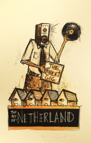 The Next Gig Print by Dan Grzeca