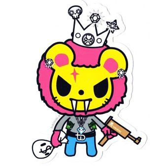 Lion Pappa - tokidoki Sticker