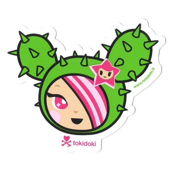 SANDy (Head) - tokidoki Sticker