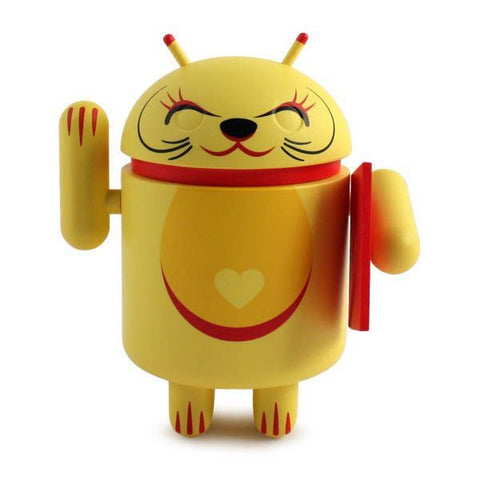 Android Lucky Cat -Yellow with Envelope