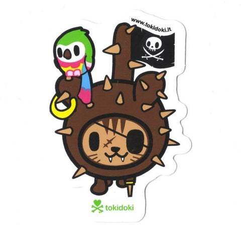 Pirate Kitty - tokidoki Sticker