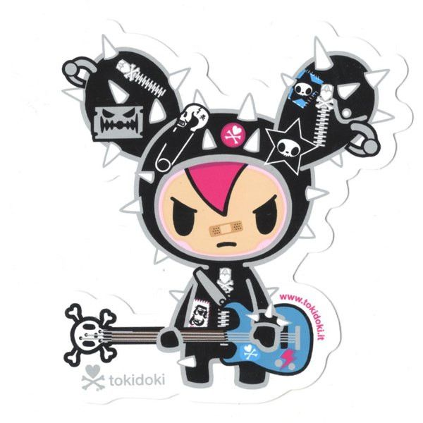 Cactus Rocker - tokidoki Sticker