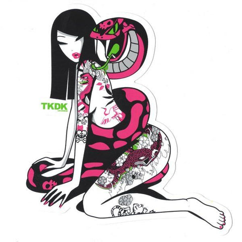 TKDK Tattoo Girl - tokidoki Sticker