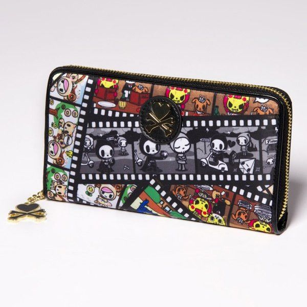 Film Strip Large Zip Wallet
