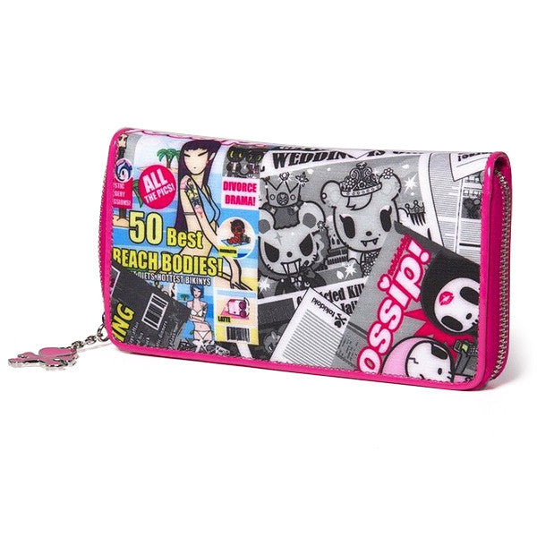 Gossip Large Zip Wallet